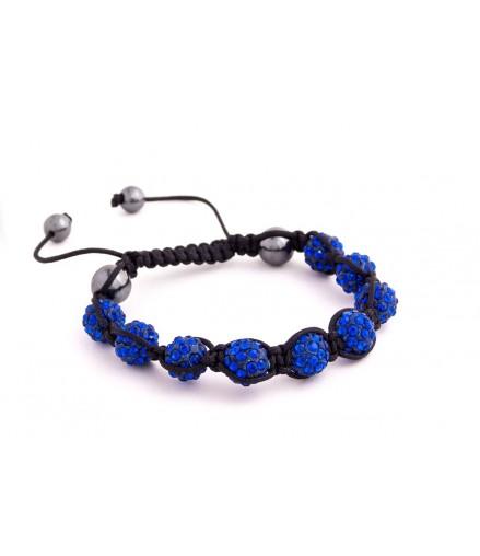 Náramek Shamballa S1 Blue