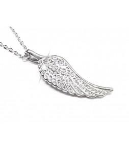 Náhrdelník z chirurgické oceli Angels Wings Fashion Jewelry 00171
