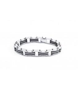 Náramek z chirurgické oceli André New Copperjewelry 00355